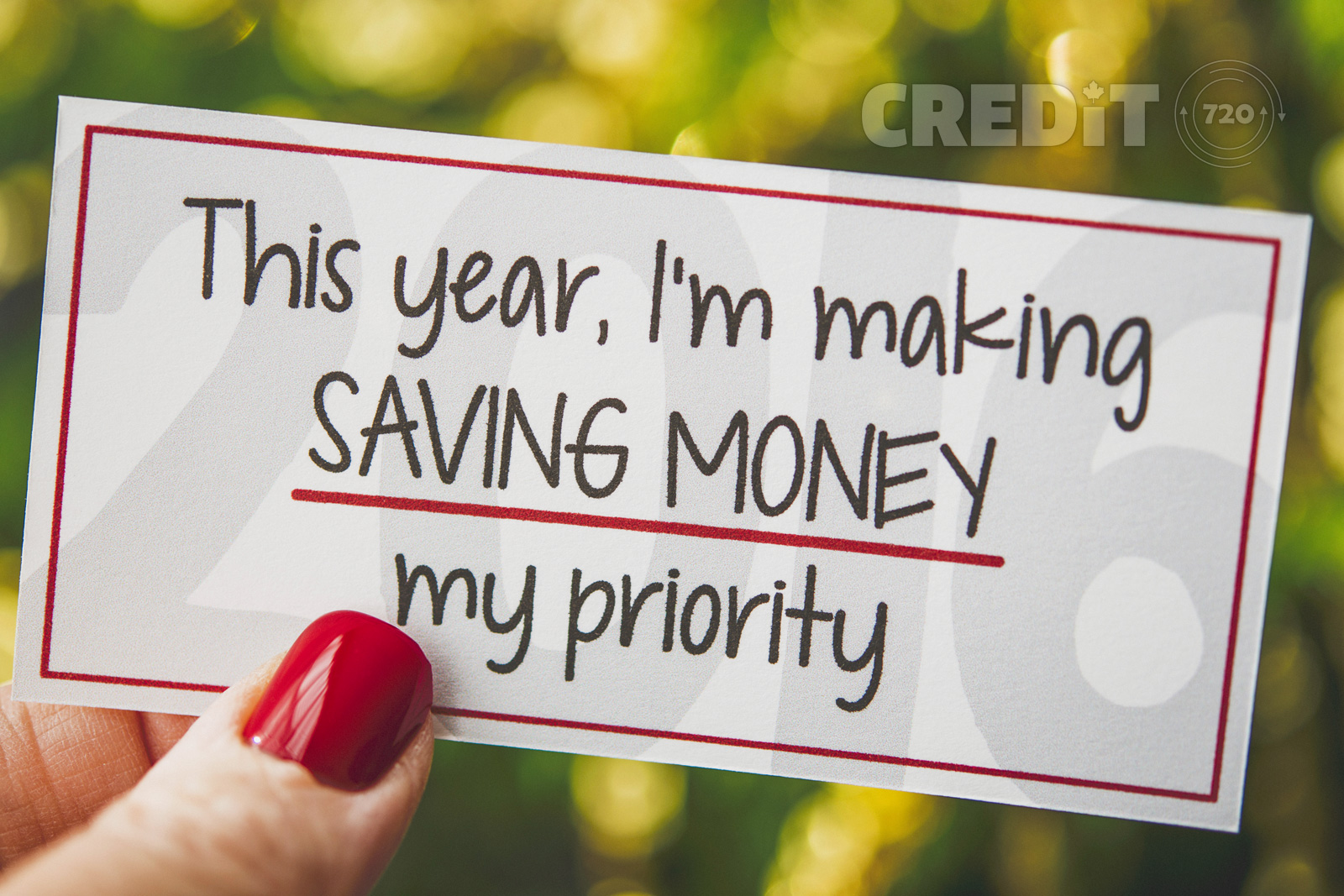 Saving Money - Credit720